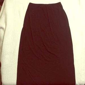 Apostrophe black skirt.